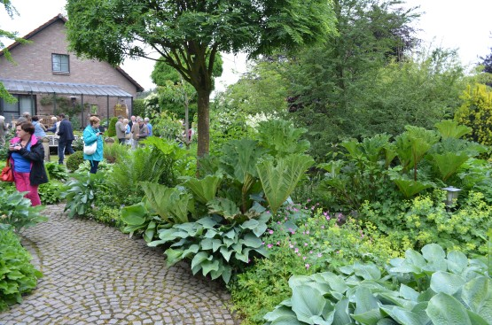 Cottagetuin-Diepenbeek-Bij ons bezoek
